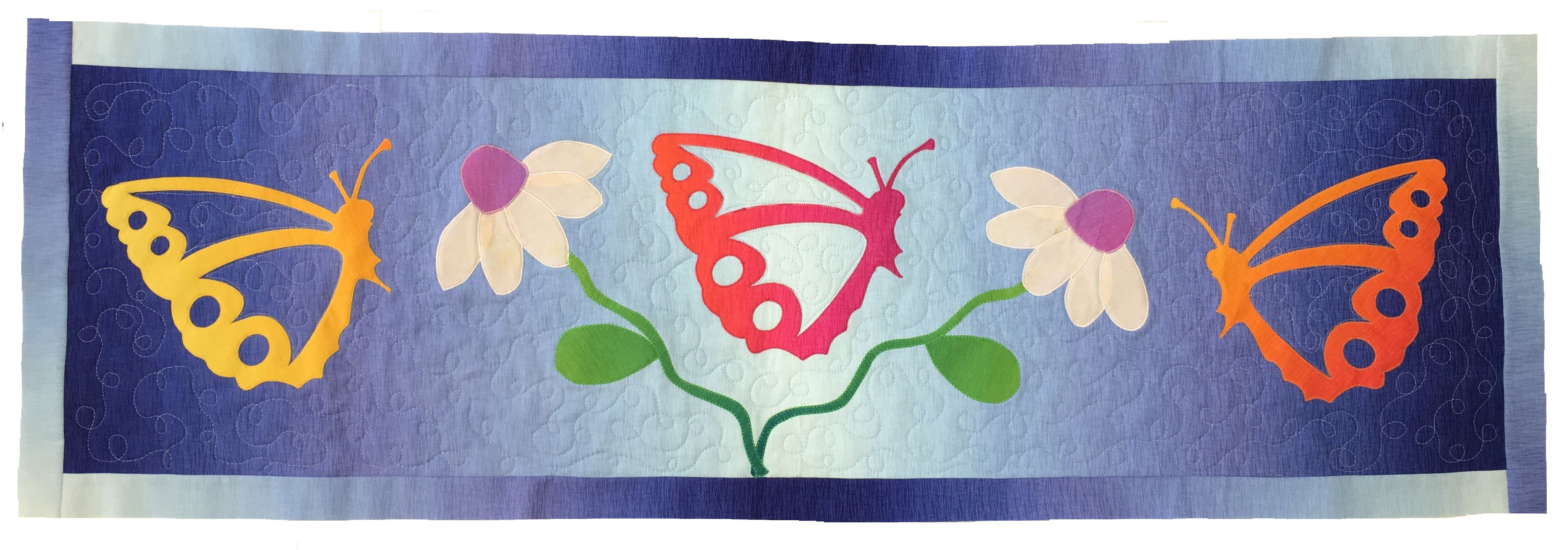 Summer Butterflies Quilt Kit