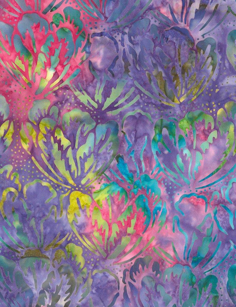Passion Hibiscus batik