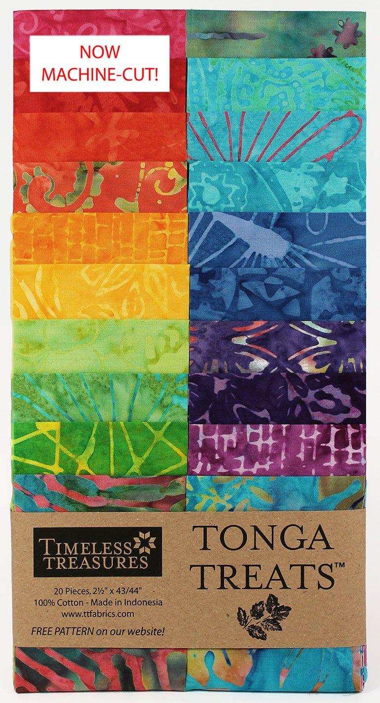 Zing Batik Strip Jr. 2.5in. pack 20pp.