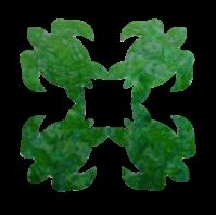 16in. Turtle Hawaiian Fusible Applique