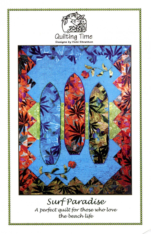 Surf Paradise Quilt Pattern