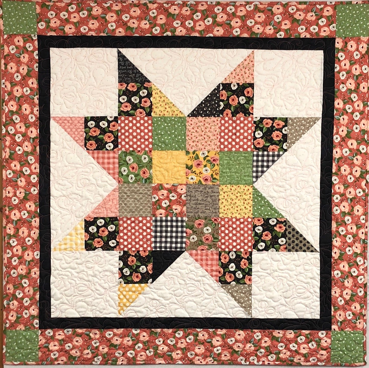 Store Quilt Charm Star Farmer's Daughter