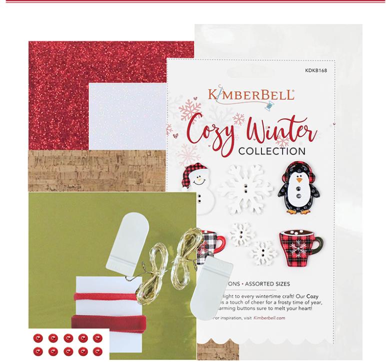 Candy Cane Lane Embellishment Kit (Pre-Order)