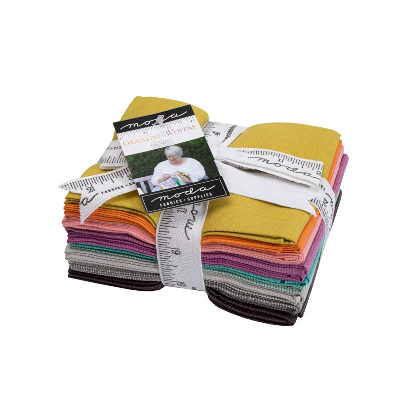 GRAINLINE WOVENS FAT QUARTER BUNDLE