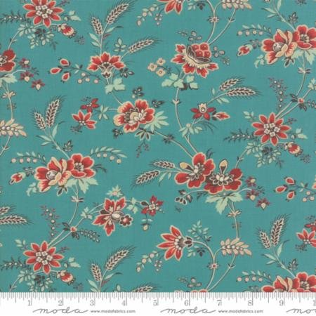 Bohemian Floral Turquoise