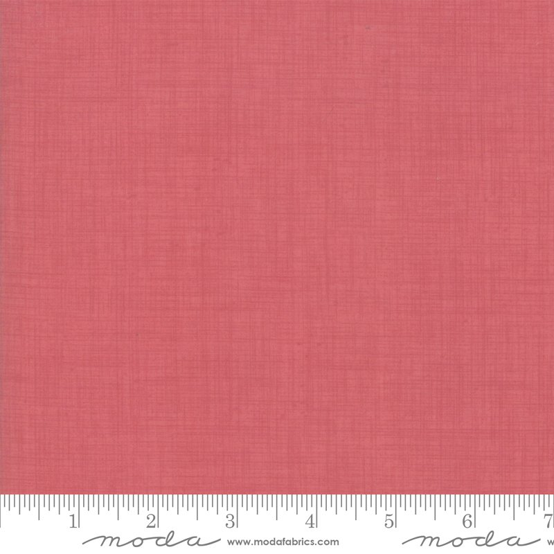 Linen Texture Faded Red