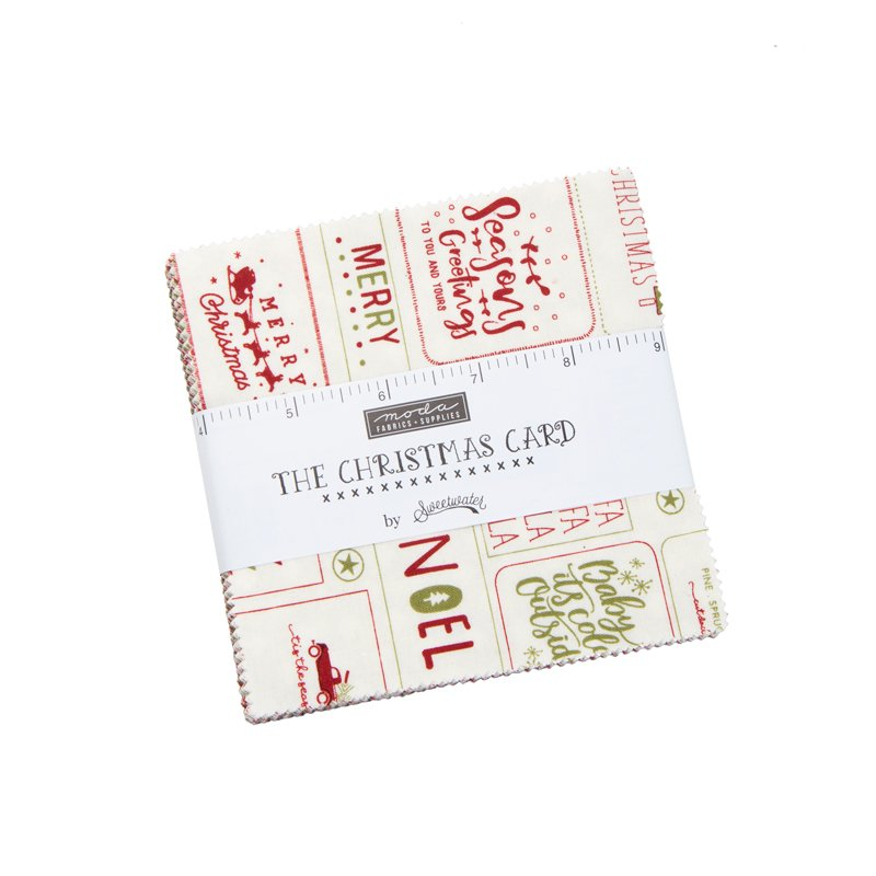 THE CHRISTMAS CARD Charm Pack