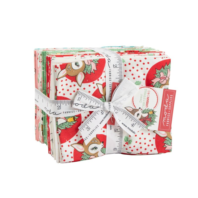 DEER CHRISTMAS Fat Quarter Bundle