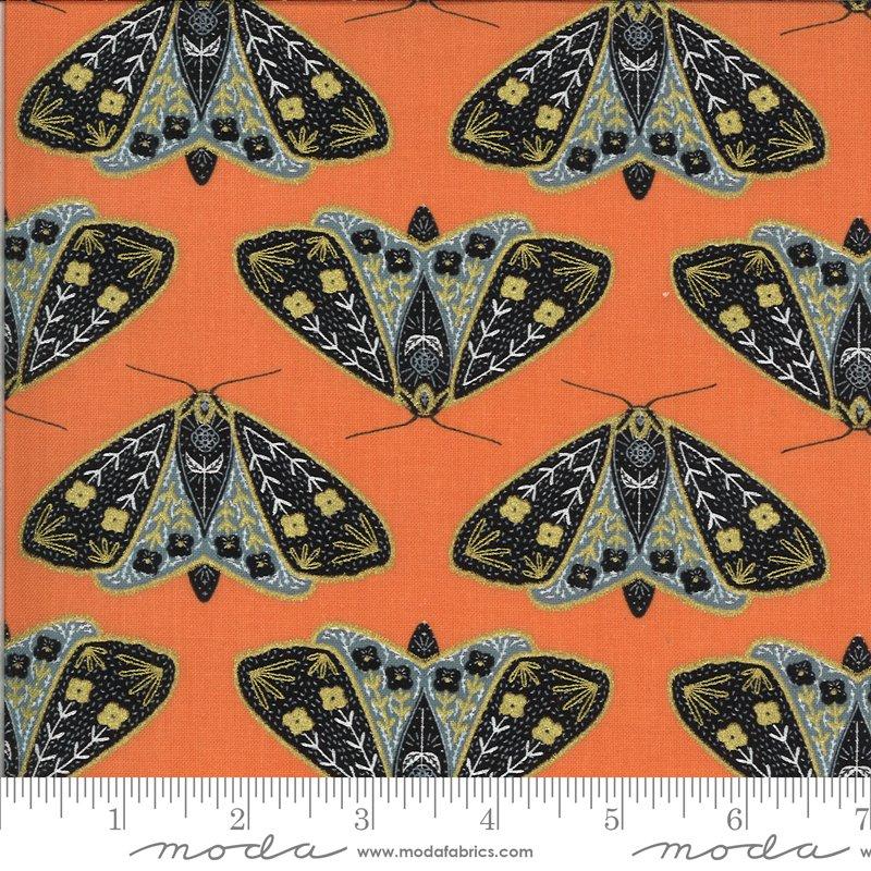 Dainty Moths Poppy Metallic