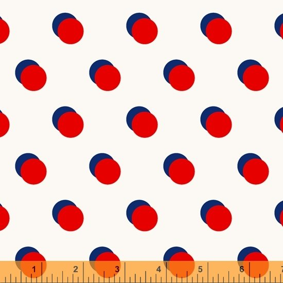 Double Dot in Red