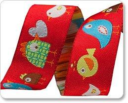 DENA DESIGNS Red Happi Birds