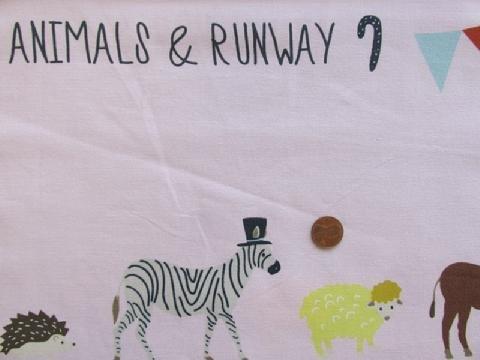 Animal Runway Border