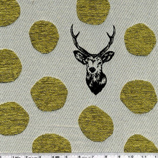Deer JACQUARD Gold