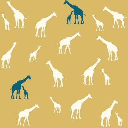 Giraffe Family Sun