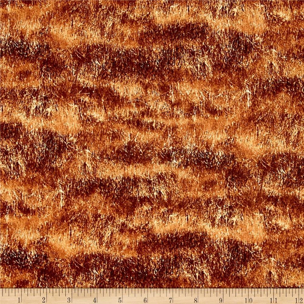 Wilmington Prints - Greener Pastures - Brown grasses