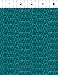 In The Beginning - Exotic Spice By Jason Yenter -Leaves-Teal