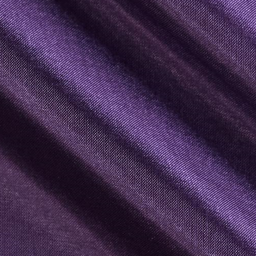 China Silk 60 Wide 100% Polyester Plum