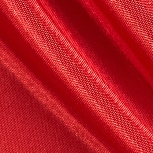 China Silk 60 Wide 100% Polyester Red