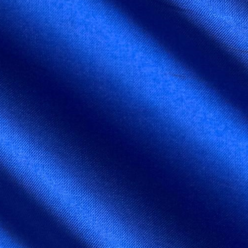 China Silk 60 Wide 100% Polyester Royal