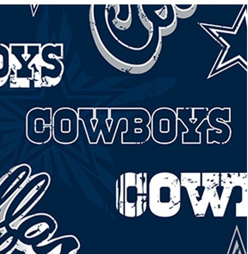 Fabric Traditions NFL Dallas Cowboys 100% Cotton FAT14443-D