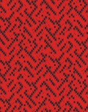 Maywood Studio - Cozy Cabin Geo Weave Texture Red