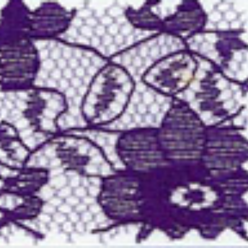 Raschel Allover Lace 60 100% Polyester Purple