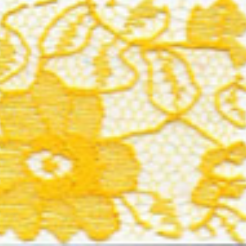 Raschel Allover Lace 60 100% Polyester Yellow Gold