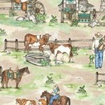 Blank Quilting Home on the Range Scenic