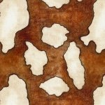 Blank Quilting Home on the Range Cowhide