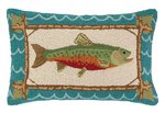 Brook Trout Pillow 14 x 22