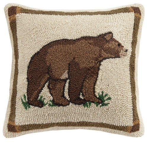 Woodland Bear 16 x 16 Pillow