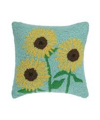 Simple Sunflowers 16 x 16 Pillow