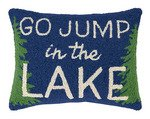 Go Jump In The Lake 14 x 18 Pillow