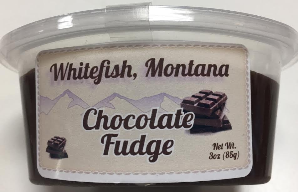 3 oz Choc. Fudge