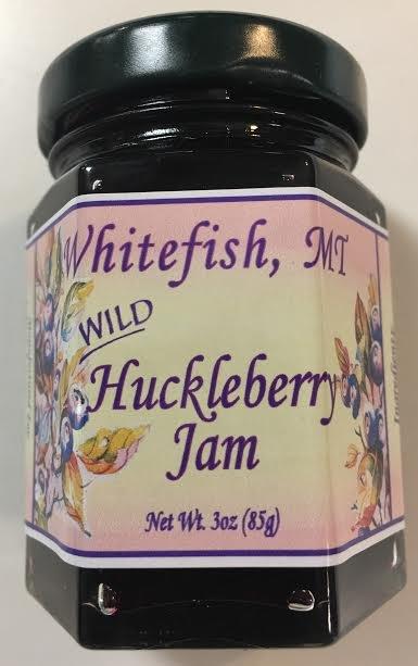 3 oz Huckleberry Jam