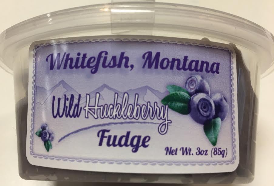 3 oz Huckleberry Vanilla Fudge