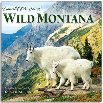 Wild Montana Hard Cover Book