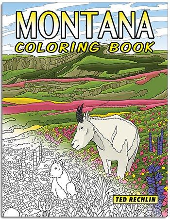 Montana Coloring Book