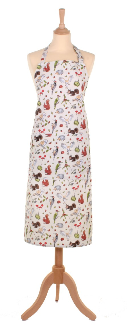 MF Woodland Cotton Apron