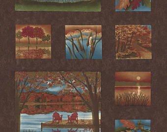 Autumn Reflections Panel