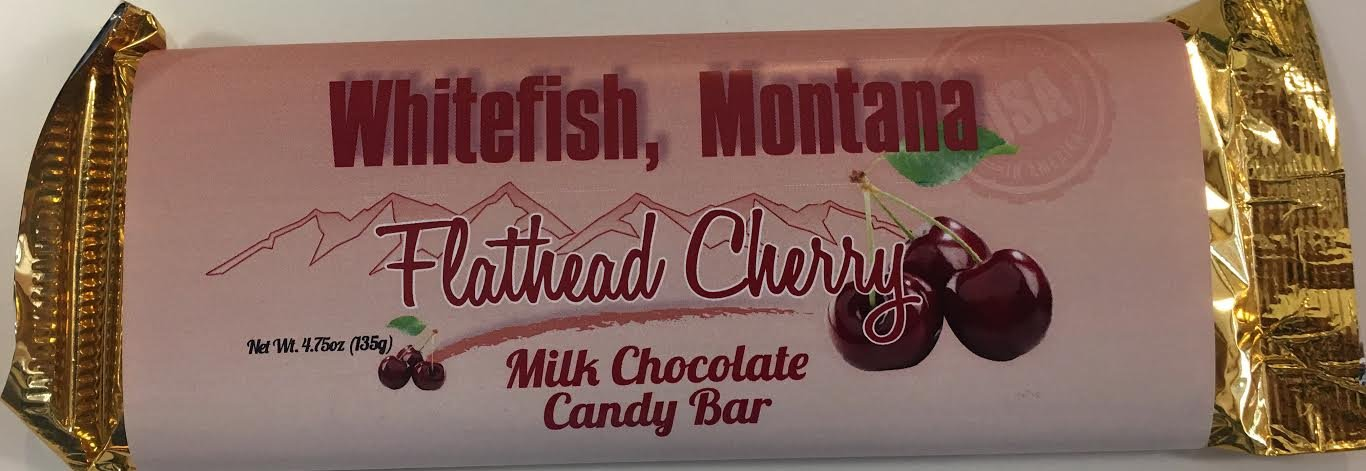 4.75 oz Cherry Milk Choc. Candy Bar