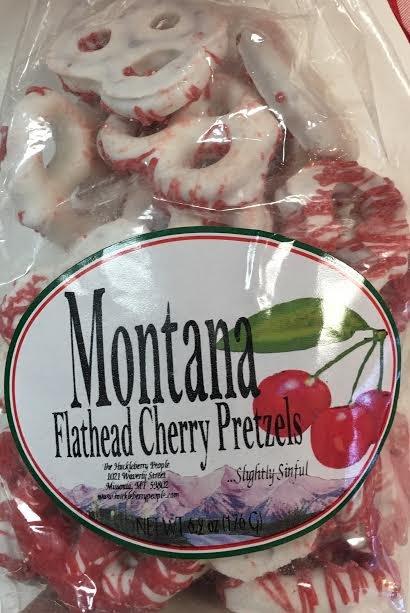 6.2 oz White Choc. Cherry Pretzels