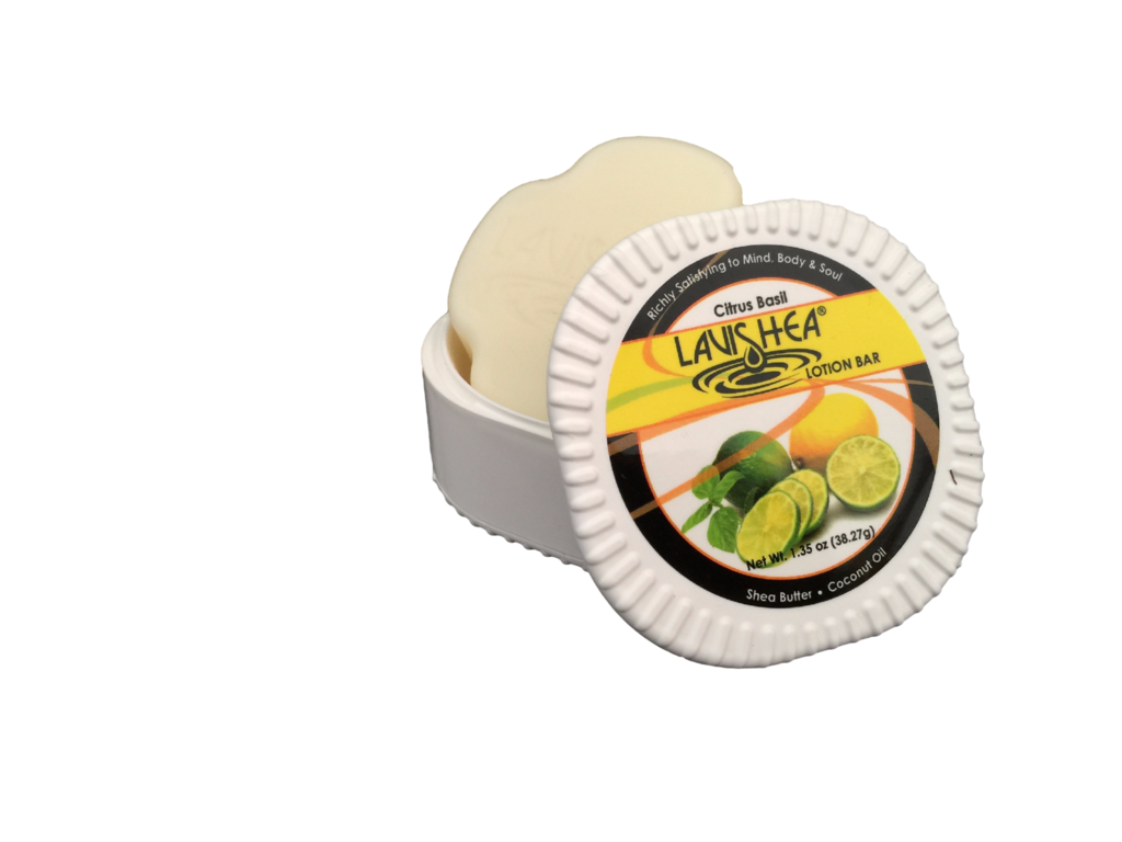 Citrus Basil Lotion Bar