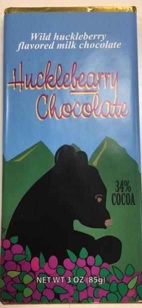 3 oz Milk Huckleberry Chocolate-Bear