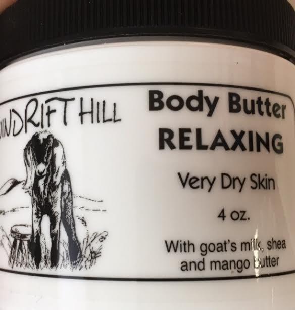 4 oz Relaxing Body Butter