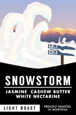 12 oz Whole Bean Snow Storm