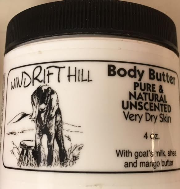 4 oz Pure & Natural Unscented Body Butter