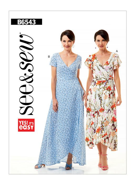 See & Sew B6543 Size A