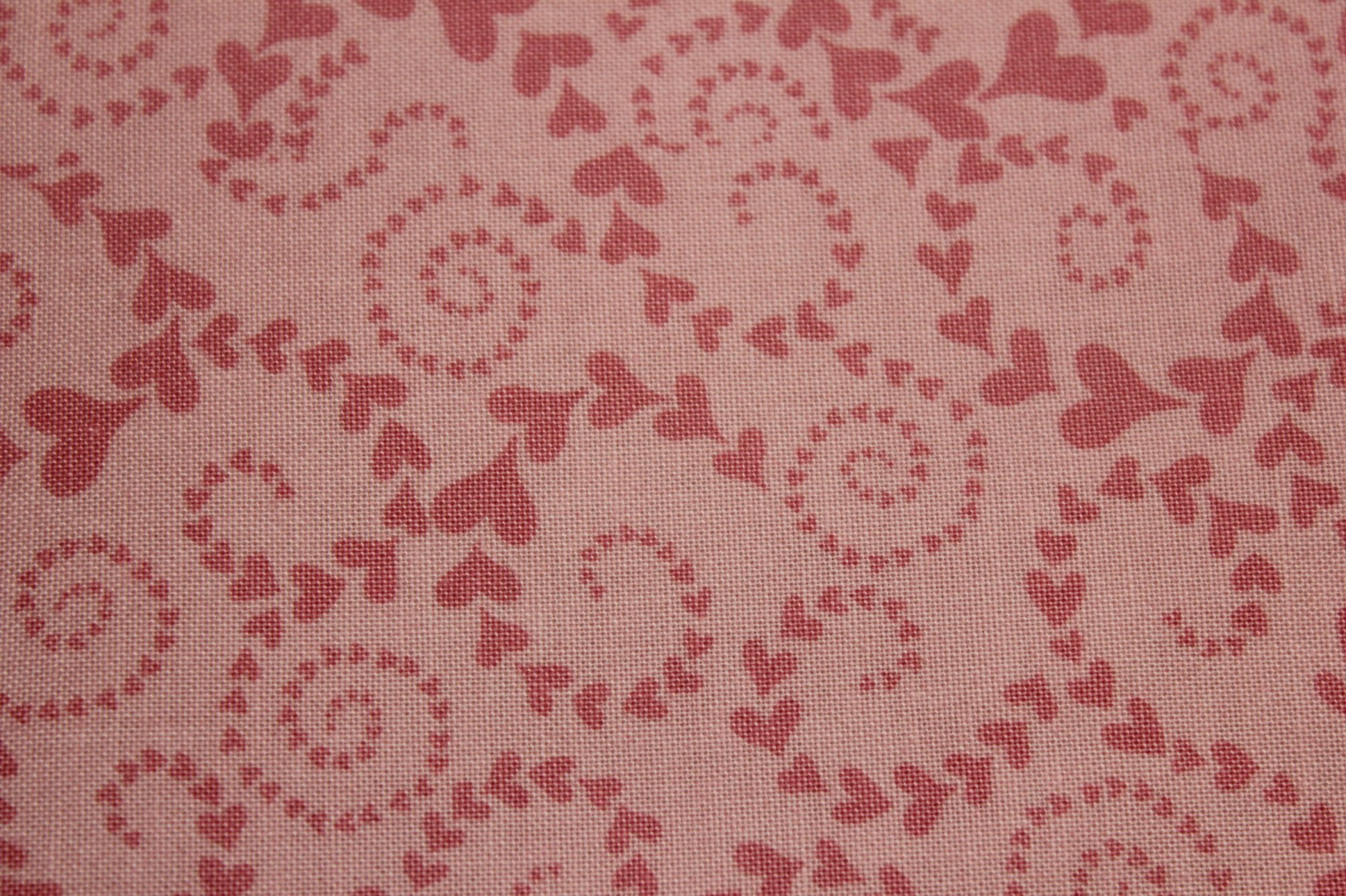 Fun - Pink Heart Swirls by Timeless Treasures
