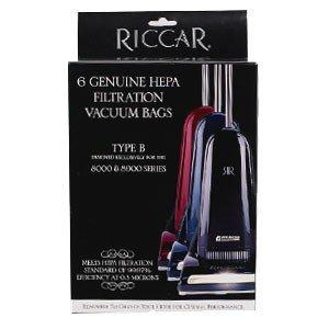 Riccar HEPA Bags 8000; Type B